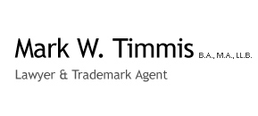 Mark W. Timmis, B.A, M.A, LL.B, Lawyer And Trademark Agent